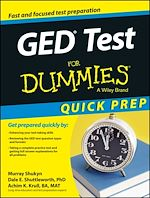 Download this eBook GED Test For Dummies, Quick Prep
