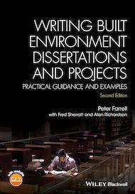 Téléchargez le livre :  Writing Built Environment Dissertations and Projects