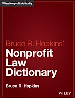 Download this eBook Hopkins' Nonprofit Law Dictionary