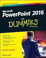 Téléchargez le livre :  PowerPoint 2016 For Dummies