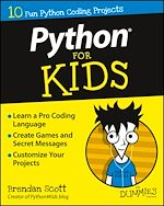 Download this eBook Python For Kids For Dummies