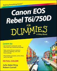Téléchargez le livre :  Canon EOS Rebel T6i / 750D For Dummies