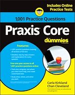Download this eBook 1,001 Praxis Core Practice Questions For Dummies with Online Practice