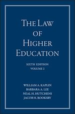 Download this eBook The Law of Higher Education, A Comprehensive Guide to Legal Implications of Administrative Decision Making