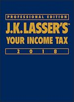 Download this eBook J.K. Lasser's Your Income Tax 2018