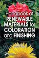 Download this eBook Handbook of Renewable Materials for Coloration and Finishing