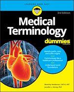 Téléchargez le livre :  Medical Terminology For Dummies