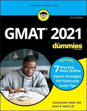 Téléchargez le livre :  GMAT For Dummies 2021
