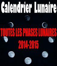 Téléchargez le livre :  Calendrier lunaire 2014-2015.  Toutes les phases de la lune