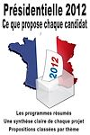 Télécharger le livre :  Présidentielle 2012 - Ce que propose chaque candidat