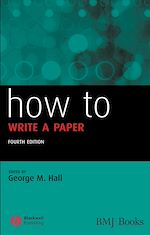 Download this eBook How to Write a Paper