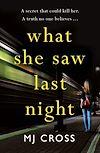 Télécharger le livre :  What She Saw Last Night