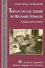 Téléchargez le livre :  Textos de los «Lieder» de Richard Strauss