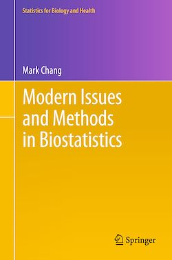 Modern Issues and Methods in Biostatistics