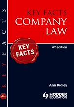 Download this eBook Key Facts: Company Law [Fourth Edition]