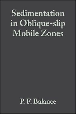 Sedimentation in Oblique-slip Mobile Zones