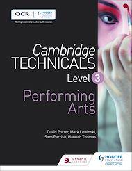Download the eBook: Cambridge Technicals Level 3 Performing Arts