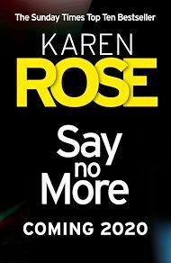 Téléchargez le livre :  Say No More (The Sacramento Series Book 2)