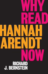Download the eBook: Why Read Hannah Arendt Now?