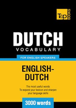 Dutch vocabulary for English speakers - 3000 words