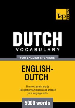 Dutch vocabulary for English speakers - 5000 words