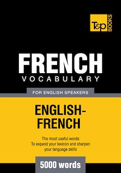 French Vocabulary for English Speakers - 5000 Words