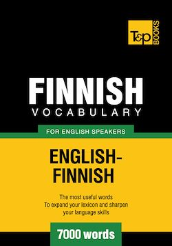 Finnish vocabulary for English speakers - 7000 words