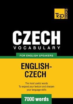 Czech vocabulary for English speakers - 7000 words
