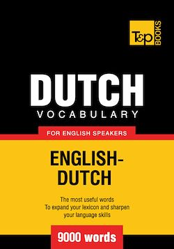 Dutch vocabulary for English speakers - 9000 words