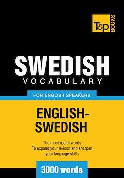 Swedish Vocabulary for English Speakers - 3000 Words