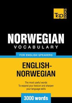 Norwegian vocabulary for English speakers - 3000 words
