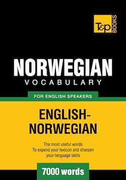 Norwegian vocabulary for English speakers - 7000 words