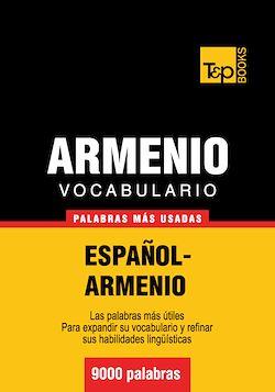 Vocabulario español-armenio - 9000 palabras más usadas