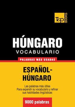 Vocabulario español-húngaro - 9000 palabras más usadas