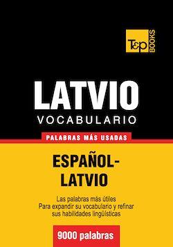 Vocabulario Español-Latvio - 9000 palabras más usadas