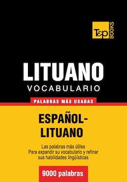 Vocabulario español-lituano - 9000 palabras más usadas