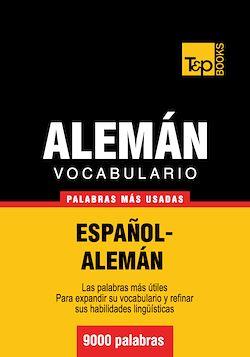Vocabulario español-alemán - 9000 palabras más usadas