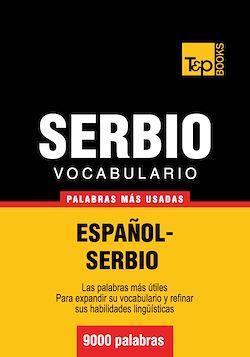 Vocabulario español-serbio - 9000 palabras más usadas