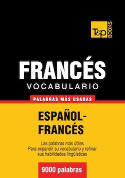 Vocabulario español-francés - 9000 palabras más usadas