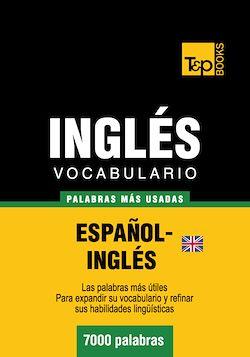 Vocabulario español-inglés británico - 7000 palabras más usadas