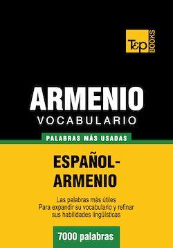 Vocabulario español-armenio - 7000 palabras más usadas
