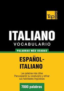Vocabulario español-italiano - 7000 palabras más usadas