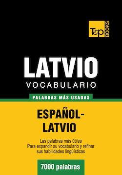 Vocabulario Español-Latvio - 7000 palabras más usadas