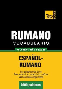 Vocabulario español-rumano - 7000 palabras más usadas