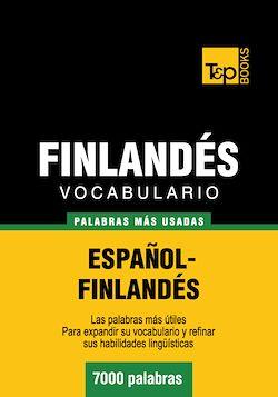 Vocabulario español-finlandés - 7000 palabras más usadas