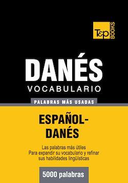 Vocabulario español-danés - 5000 palabras más usadas