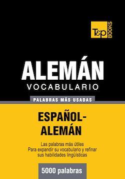 Vocabulario español-alemán - 5000 palabras más usadas