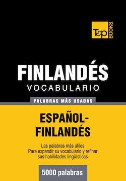 Vocabulario español-finlandés - 5000 palabras más usadas