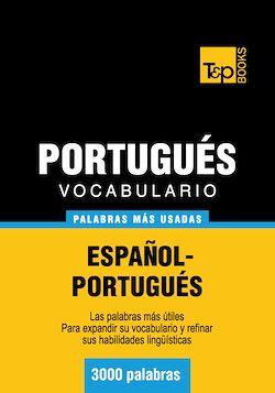 Vocabulario español-portugués - 3000 palabras más usadas