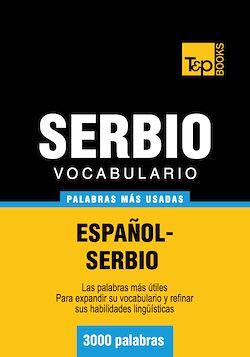 Vocabulario español-serbio - 3000 palabras más usadas